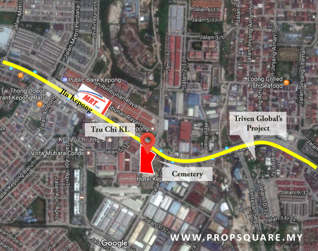 aikbee-kepong-location