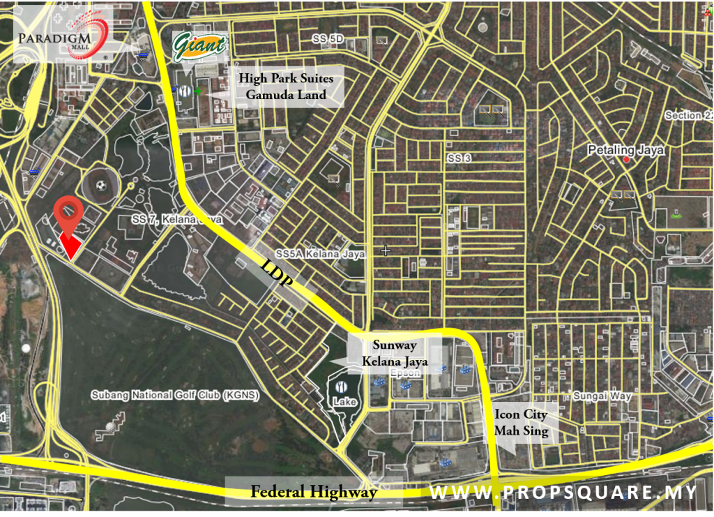 panorama-kelana-jaya-map