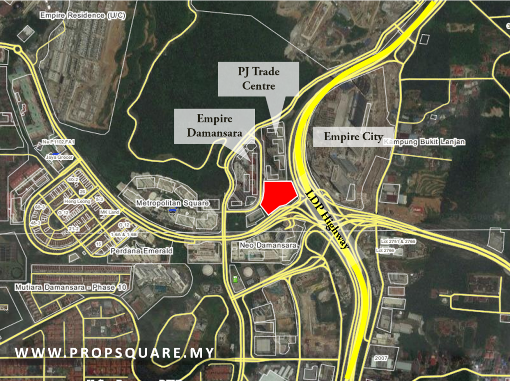 Gadang buy land from Gabungan AQRS in Damansara Perdana
