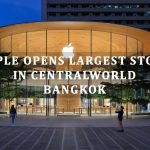 Largest Apple store in Thailand opens at CentralWorld