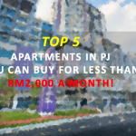 Top 5 apartments you can afford for less than RM2000/month in Petaling Jaya