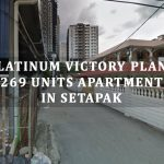 Platinum Victory proposed  263 units apartment including affordable homes at Setapak