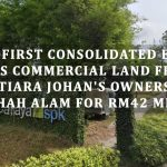 EcoFirst Consolidated Bhd buys commercial land from Mutiara Johan's owners in Shah Alam for RM42 mil
